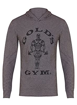 Golds Gym Kapuzen-Shirt, langärmlig