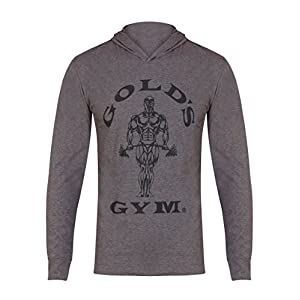 Golds Gym Kapuzen-Shirt, langärmlig