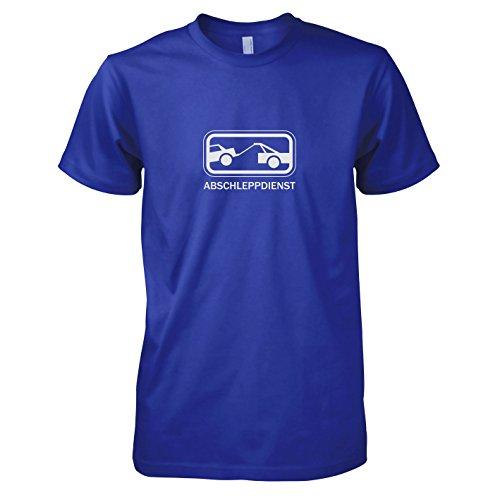 TEXLAB - Abschleppdienst - Herren T-Shirt Marine