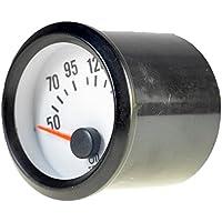 """Mintice 2"""" 52mm Universal medidor Indicador Puntero de Coche luz LED medidor de Temperatura del Aceite Calibre Motor"""