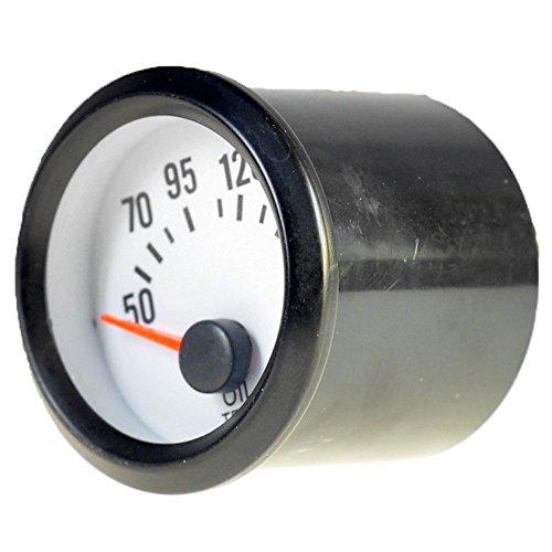 Mintice Auto 2' 52mm Universale pointer Led blu Indicatore Misuratore di temperatura dell'olio 12V