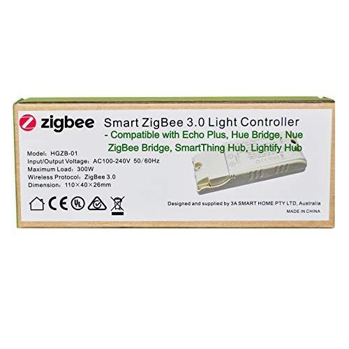 Smart ZigBee - Controlador de interruptor de luz para Echo Plus, ZigBee...