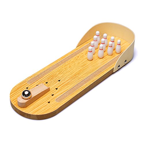 mylifeunit-mini-desktop-bowling-game-set-wooden-miniature-ten-pin-bowling-alley