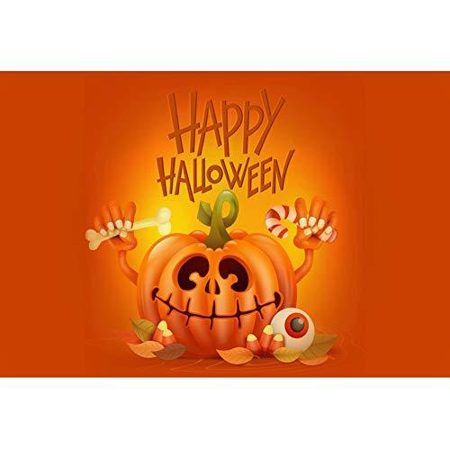 en Hintergrund Kürbis Fröhliches Halloween Kürbislaterne Augapfel Hintergrund Halloween Nacht Party Fotografie Süßes und Saures Banner Dekoration Porträt Foto ()