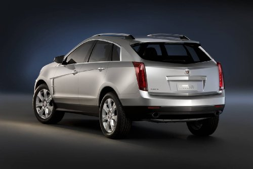 classic-cadillac-srx-2010-car-art-poster-print-on-10-mil-archival-satin-paper-silver-rear-side-studi