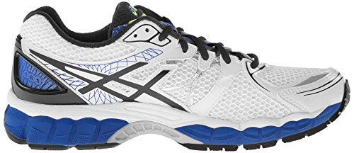 ASICS Gel-Nimbus 16, Herren Laufschuhe Training White/Black/Royal