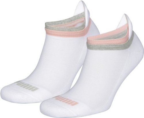 Puma Damen Sportsocken Jet Cat 2er Pack, 300 - White, 39-42, 223000000000000