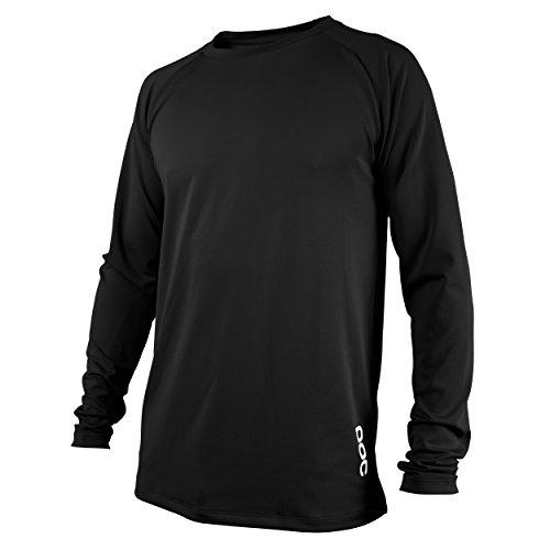 POC Herren Resistance DH LS Jersey Carbon Black, S