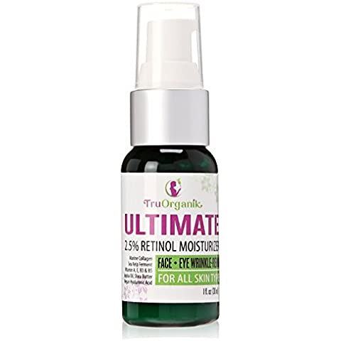 ULTIMATE Retinol Deep Moisturizer & Anti-aging Eye Cream | Packs