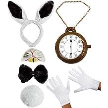 Amazon.es: disfraz conejo alicia