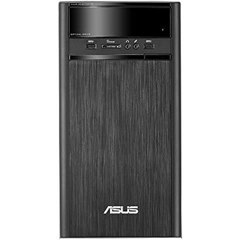 ASUS A31AD-SP006D - Ordenador de sobremesa (Intel Core i5-4460, 4 GB de RAM, HDD de 500 GB, Intel HD Graphics 4600, DOS libre), negro - teclado y ratón QWERTY Español