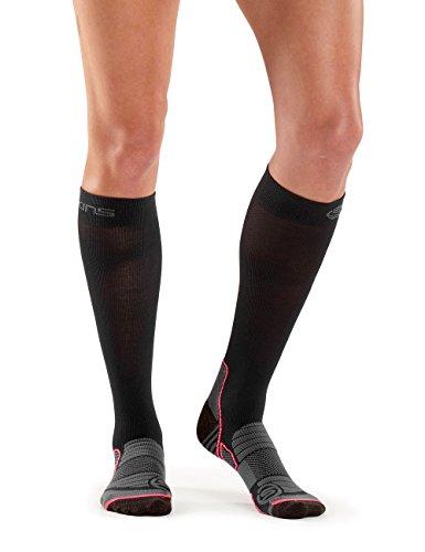 Skins Damen Essentials Comp Socks Active, Black/Atomic, M, ES00029270007F