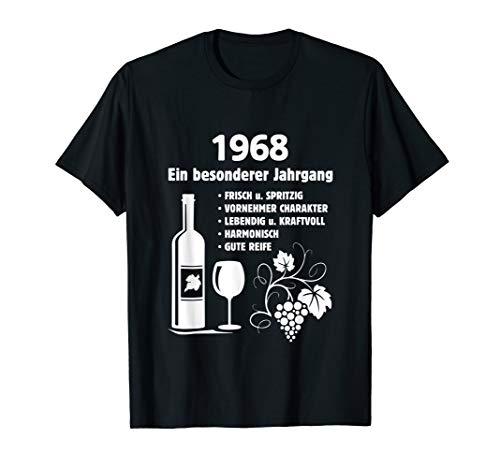 Geburtstag Geschenk Wein Vintage - Besonderer Jahrgang 1968 T-Shirt