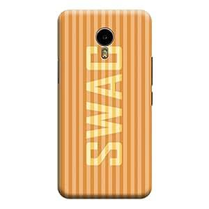 Qbic 3D High Quality Designer Mobile Back Case Cover For Meizu M2 Note (Premium Matte Finishing Back Case)