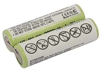 Vintrons Replacement Battery For Remington Ms2-280, Ms2-290 3