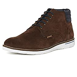 Duke Mens Synthetic Brown Coloured Boots 8