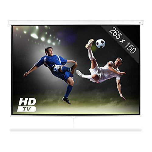 Diagonale Lcd-hdtv (FrontStage SLS-120 • Beamer • Leinwand • Public Viewing • 120