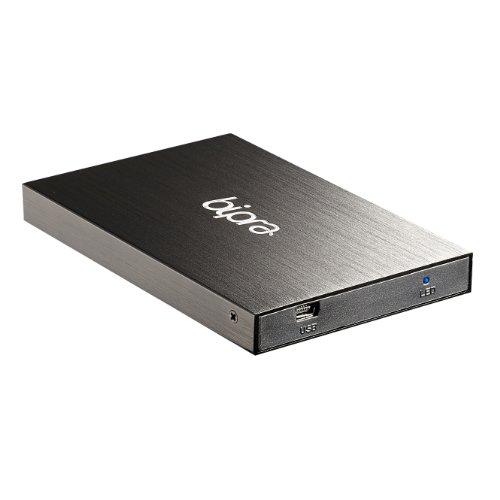 BIPRA Externe Festplatte (2,5Zoll/ 63,5mm, NTFS), Schwarz schwarz 120 GB