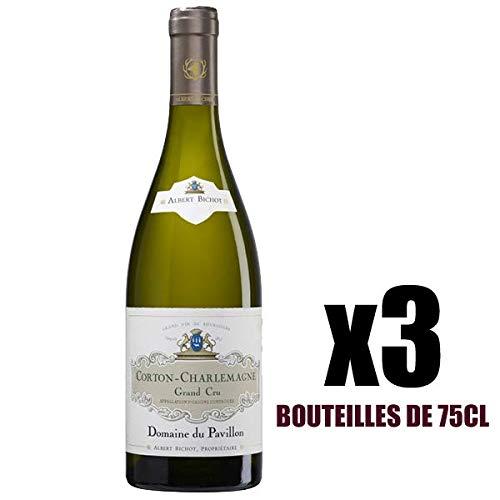 X3 Corton-Charlemagne 2016 75 cl Domaine du Pavillon Albert Bichot AOC Corton-Charlemagne Weisswein
