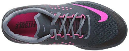 Nike - Fs Lite 2, Chaussures De Course À Pied Pour Femme Gris (gris (classic Charcl / Pnk Pw / Bl Grpht))