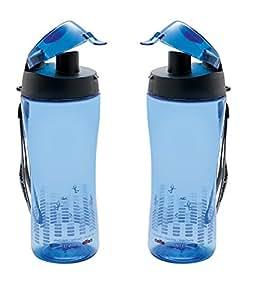 Cello Sprinter Sports Bottle Set, 700ml, Set of 2, Blue