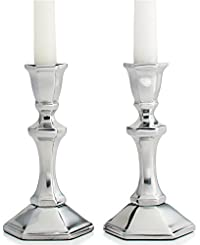 Martha Stewart Collection Candle Holders, Set of 2 Metal Tapers 6'