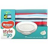 Купить Huggies Baby Wipes Clutch, wiederverwendbare Tasche, 40 Feuchttüchern, farblich sortiert