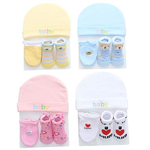VDGHA Adecuado 0-12 Meses Calcetines BebéS Masculinos