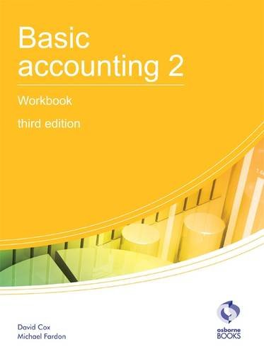 Basic Accounting 2 Workbook (AAT Accounting - Level for sale  Delivered anywhere in UK