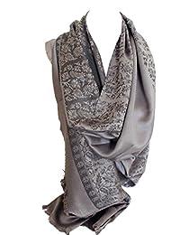 Qualität zwei doppelseitigen Druck selbst geprägte Pashmina Feel Wrap Schal Stola Schal