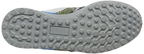 Mjus 794109-0201-0001, Sneaker Femme Mehrfarbig (argent + Opale + Elfe + Blanc + Bleu + Blanc)
