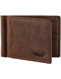 SEMLIMIT Premium Geldbörse SG2 inkl. Münzfach und Geldklammer Echtlederqualität - RFID/NFC Schutz