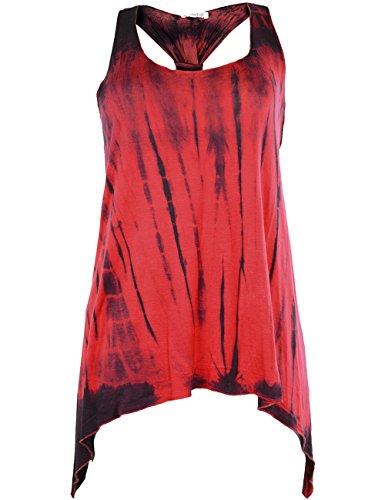 innocent-lifestyle-womens-tie-dye-sleeveless-vest-top-red-stripe-medium