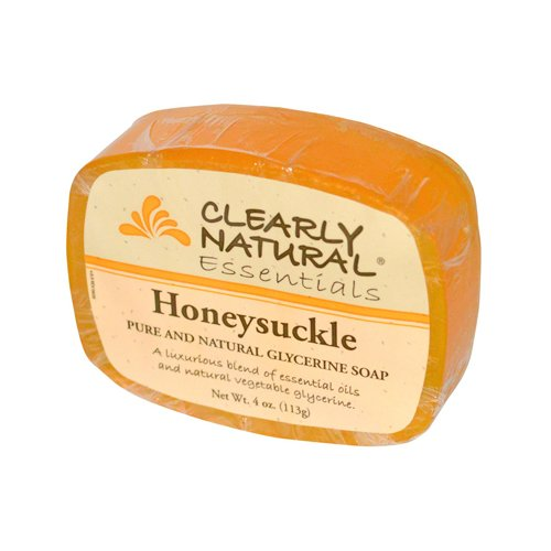 pack-of-1-x-clearly-natural-glycerine-bar-soap-honeysuckle-4-oz