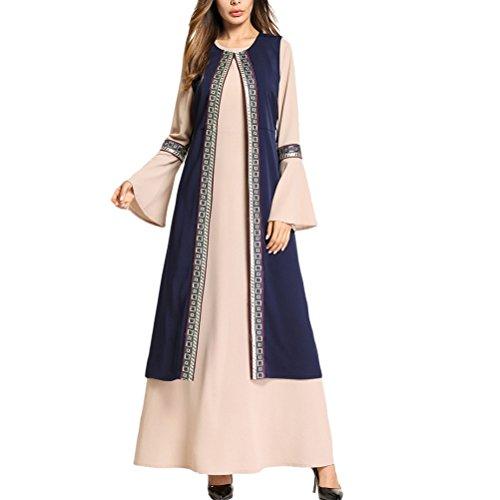 Zhhlaixing Multi-Style Elegantes Abendkleid Party Abaya Kleider für Frauen Jalabiyas Türkische Saudi-Arabien Marokkanischen
