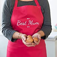 Best Mum Apron - Personalised Mother's Day Apron - Personalised Apron - Baking Gifts - Birthday Gift Idea - Mothers Day - Customize Apron