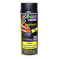 Dupli Color 388033 DC Sprayplast Spray, 400 ml, Schwarz Matt