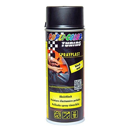 dupli color sprayplast Dupli Color 388033 DC Sprayplast Spray, 400 ml, Schwarz Matt