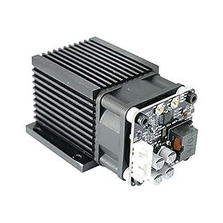 TOPQSC 2,5 Watt 5,5 Watt 7 Watt Laserkopf Blaulichtmodul Diode Für CNC DIY Gravur Schneidemaschine 450nm Fokus Power DC 12 V mit Schutzbrille (5,5 W)