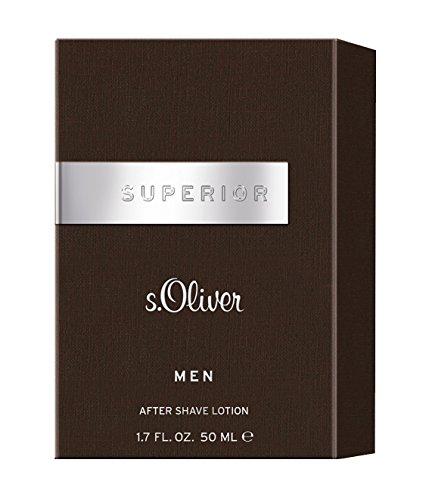 S.Oliver Superiour Men homme/men, Aftershave Lotion, 1er Pack (1 x 50 g)