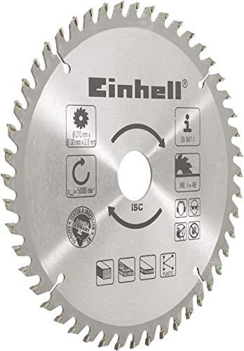 Einhell 4502034 Lama per Legno in Metallo Duro, Ø 210 X Ø 30 X 2,8 mm, 48 Z