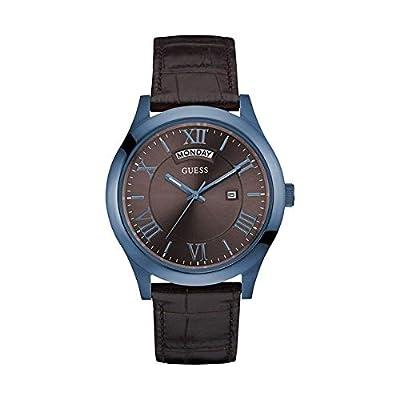GUESS Reloj Analógico para Hombre de Cuarzo con Correa en Cuero W0792G6 de GUESS