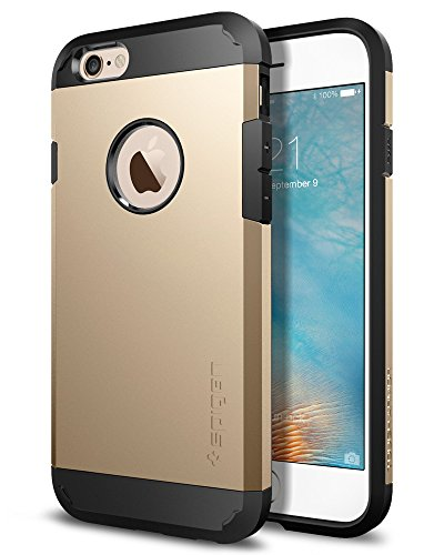 Spigen SGP11613 Coque iPhone 6 / 6s [MILITARY GRADE] Champagne