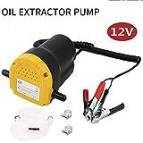 Sunsbell 12V 5A Pompe de Récupération D'aspiration D'huile Pompe de Transfert D'huile Immergée Diesel Change Extractor pour Voiture/Motos/Bateaux