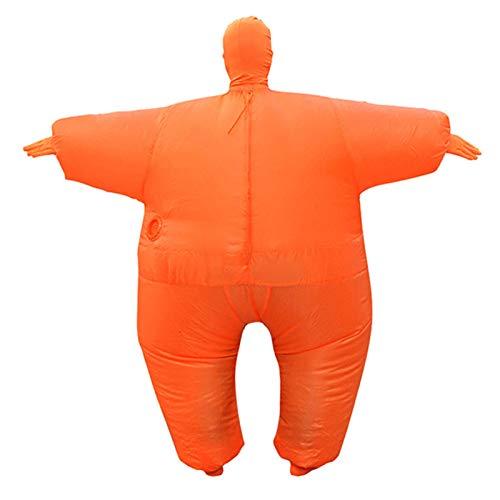 TETHYSUN Aufblasbares Ganzkörper-Kostüm, für Erwachsene, großes Fett für Halloween, Cosplay-Kleidung für Erwachsene, lustiges Cosplay-Tücher, Party-Spielzeug für Halloween, (Übergröße Fett Kostüm)