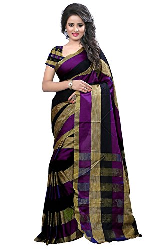 Best Collection Women's Clothing Saree Collection in Multi-Coloured Art Silk Material For...