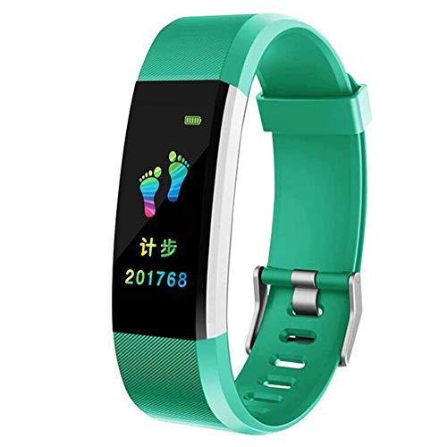 9302sonoaud Braccialetto Smart Bluetooth Bluetooth Track da 115plus 0.96 Pollici OLED Verde