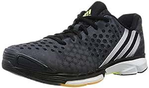 adidas Damen Volleyballschuhe Volley Response Boost dark grey/silver met./frozen yellow f15 36 2/3