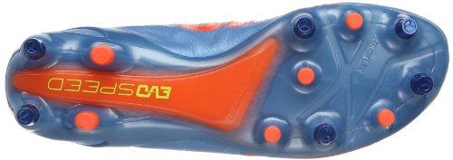 Puma  evoSPEED 1.2 L Mixed SG, Chaussures de football homme Bleu - Blau (sharks blue-fluro peach-fluro yellow 03)