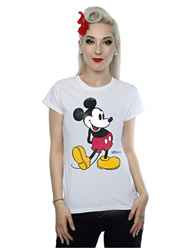 Mouse Classic Kick T-Shirt X-Large Weiß ()